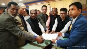 উপজেলা পরিষদ নির্বাচন: মনোনয়নপত্র জমা দিলেন কুদরত আলী