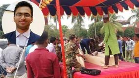 বাসচাপায় নিহত আবরারের জানাজা সম্পন্ন, বনানী কবরস্থানে দাফন