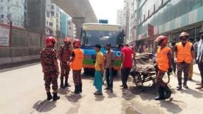 রাজধানীতে বাসচাপায় মোটরসাইকেল আরোহী নিহত