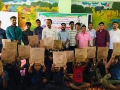 বান্দরবানে রবিন বাহাদুরের শিক্ষা সামগ্রী বিতরণ সমাপ্ত