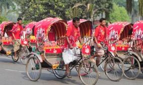 শাহবাগ, রামপুরা, গাবতলী, সায়েদাবাদে প্রধান সড়কে রিকশা বন্ধ