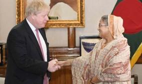 নতুন ব্রিটিশ প্রধানমন্ত্রীকে ফজলি আম দিলেন প্রধানমন্ত্রী
