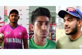 সড়ক দুর্ঘটনায় বাংলাদেশের ৩ ক্রিকেটার আহত