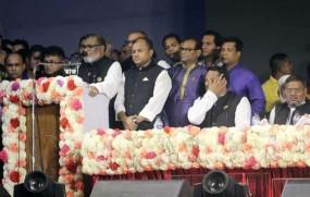 গাজীপুর-১ আসনের জনগণকে 'স্বাধীনতা পদক' উৎসর্গ করলেন আ.ক.ম মোজাম্মেল হক