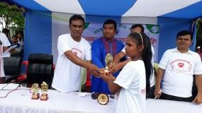 নওগাঁয় মিনি ম্যারাথন প্রতিযোগিতা ও সচেতনতামূলক সাইক্লিং অনুষ্ঠিত