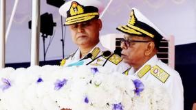 জাতীয় স্বার্থে নৌবাহিনীকে কাজ করার আহ্বান রাষ্ট্রপতির