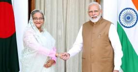 নয়াদিল্লিতে বাংলাদেশ-ভারত ৭ চুক্তি, ৩ প্রকল্প উদ্বোধন