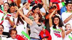 ইরানি নারীদের জন্য ফুটবল গ্যালারি খুলে গেল