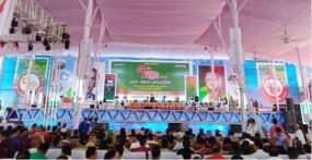 পদ্মা সেতুর মঞ্চে শেখ হাসিনা