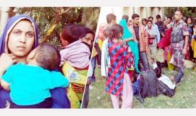 রোহিঙ্গাদের মতো ভারত থেকে দলে দলে নারী-পুরুষ ঢুকছে বাংলাদেশে