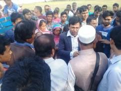 কেন্দুয়ায় টিসিবি'র পেঁয়াজ ওজনে কম দামও বেশি