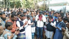 নবাবগঞ্জের কুটিপাড়া জামে মসজিদের ভিত্তিপ্রস্তর উদ্বোধন
