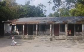 কেন্দুয়ায় অস্তহীন সমস্যা জর্জড়িত সরাপাড়া সরকারি প্রাথমিক বিদ্যালয়