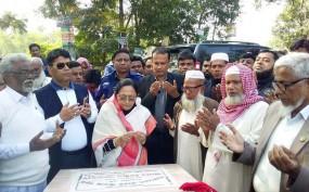 ছাগলনাইয়ায় 'বাংলাদেশ-ভারত সীমান্ত সড়ক উদ্বোধন'