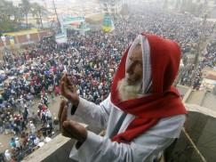 আখেরি মোনাজাতে বিশ্ব মুসলিম উম্মাহর শান্তি ও কল্যাণ কামনা
