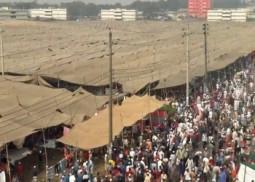 বিশ্ব ইজতেমার দ্বিতীয় পর্ব: তুরাগ তীরে মুসল্লিরা
