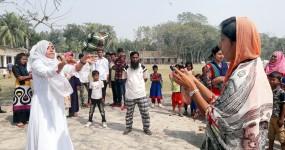 নড়াইলের আমাদা আদর্শ কলেজে বার্ষিক ক্রীড়া প্রতিযোগিতা